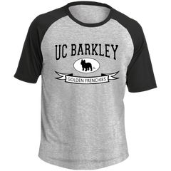 UC Barkley Colorblock Raglan Jersey - Men's T-Shirts I Love Frenchie Bulldogs