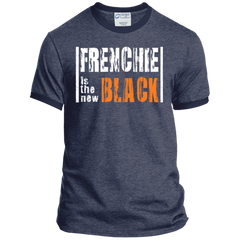 Frenchie is the New Black Ringer Tee - Men's T-Shirts I Love Frenchie Bulldogs