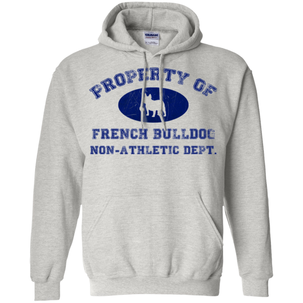 French Bulldog Non-Athletic Dept. Pullover Hoodie - Men's Sweatshirts I Love Frenchie Bulldogs