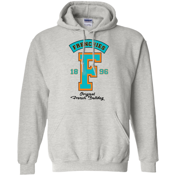Frenchies Est 1896 Pullover Hoodie - Men's Sweatshirts I Love Frenchie Bulldogs