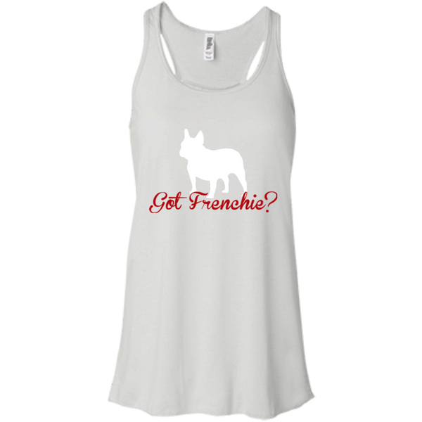 Got Frenchie Womens Flowy Racerback Tank - Women's Tanks I Love Frenchie Bulldogs