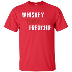 Whiskey Tango Frenchie T-Shirt - Men's T-Shirts I Love Frenchie Bulldogs
