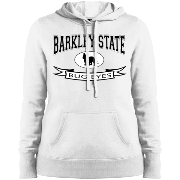 Barkley State Bug Eyes Womens Pullover Hoodie - Women's Sweatshirts I Love Frenchie Bulldogs