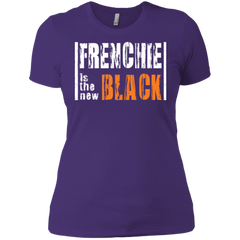 Frenchie is the New Black Womens Boyfriend T-Shirt - Women's Tees I Love Frenchie Bulldogs