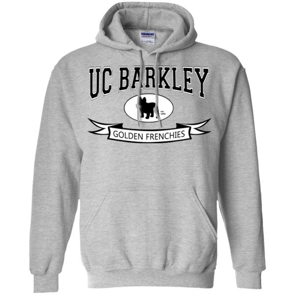 UC Barkley Pullover Hoodie - Men's Sweatshirts I Love Frenchie Bulldogs