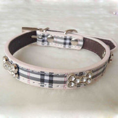 Blinged Out Rhinestone Fashion Collar - Collars I Love Frenchie Bulldogs
