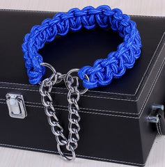 Paracord Martingale Style Training Collar - Collars I Love Frenchie Bulldogs