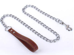 Metal Chain Non-Chew Leash - Leash I Love Frenchie Bulldogs