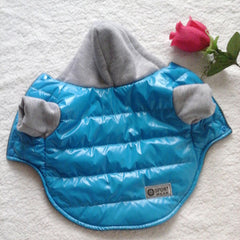 Fleece Lined Hooded Jacket - Dog Clothing I Love Frenchie Bulldogs