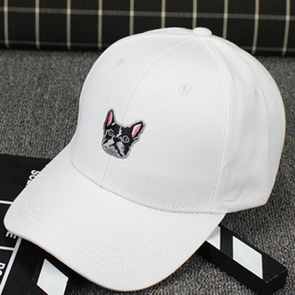 French Bulldog Snapback Baseball Cap - Hats I Love Frenchie Bulldogs