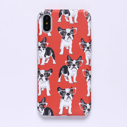 Glow in the Dark French Bulldog iPhone Case - Cell Phone Cases I Love Frenchie Bulldogs