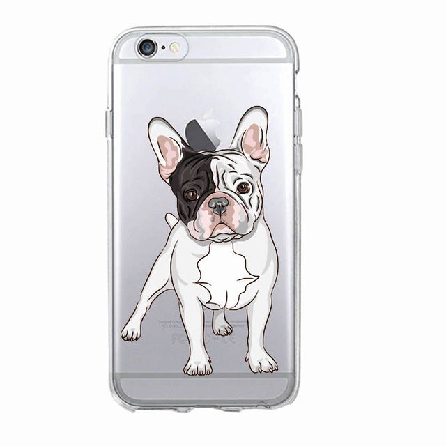 French Bulldog Soft Phone Case For Iphone and Galaxy - Cell Phone Cases I Love Frenchie Bulldogs