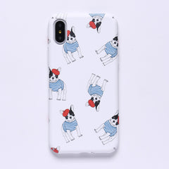 Glow-In-The-Dark French Bulldog iPhone Case - Cell Phone Cases I Love Frenchie Bulldogs