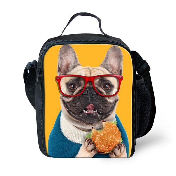 French Bulldog Insulated Lunch Bag - Bags I Love Frenchie Bulldogs