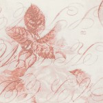 "Wideback 108"" Tim Holtz Red Rose Parcel"