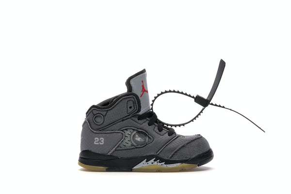 Air Jordan 5 Retro Off-White Black (TD)