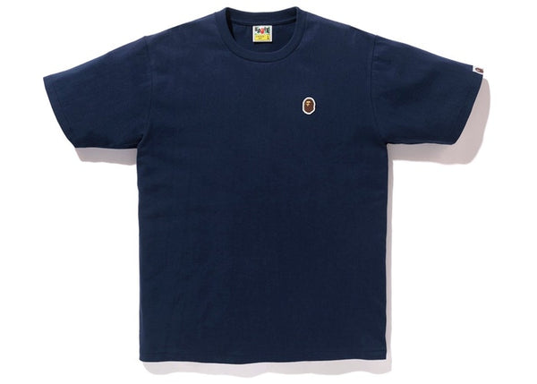BAPE Ape Head One Point Tee Navy