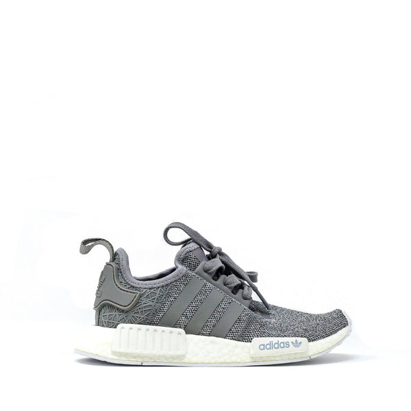 brand new ee139 5353c Adidas NMD R1 Womens Light Grey Web