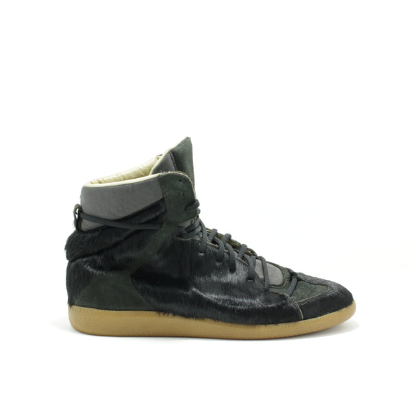 Maison Margiela Black Fur High Top Preowned