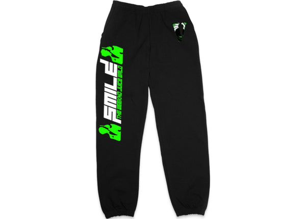 Vlone x Juice Wrld x XO Double Agent Sweatpants Black