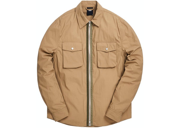 Kith Military Crispy Nylon Work Shirt Travertine