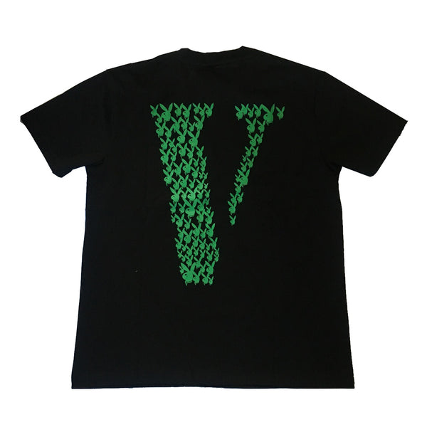 VLone x Playboy Tee Black / Green