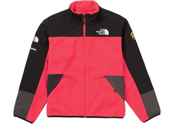 Supreme The North Face RTG Fleece Jacket Bright Red