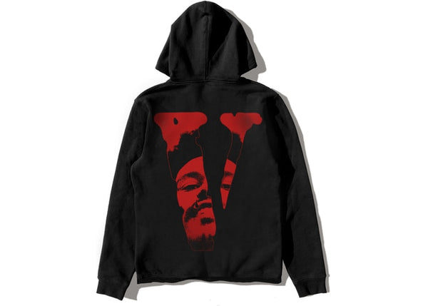 The Weeknd x Vlone After Hours Blood Drip Pullover Hood Black