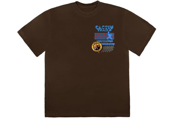 Travis Scott Cactus Trails Assn T-Shirt Brown