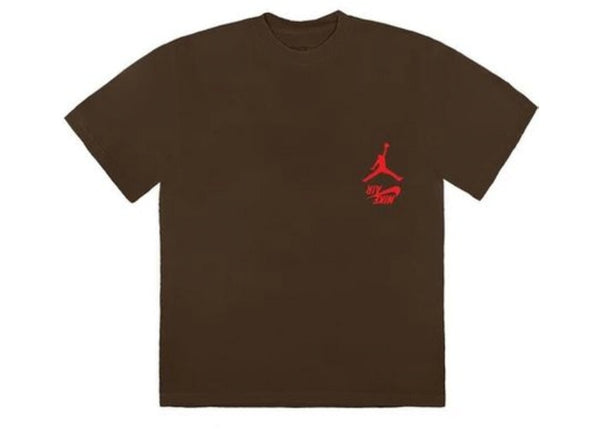 Travis Scott Jordan Cactus Jack Highest T-Shirt Brown