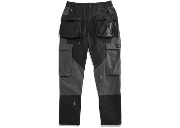 Travis Scott Jordan Cargo Pants- Black/Grey