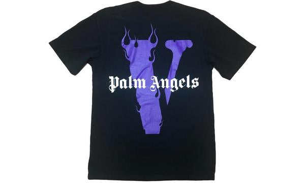 VLone x Palm Angels Tee Black / Purple