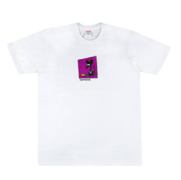 Supreme Rat Tee White
