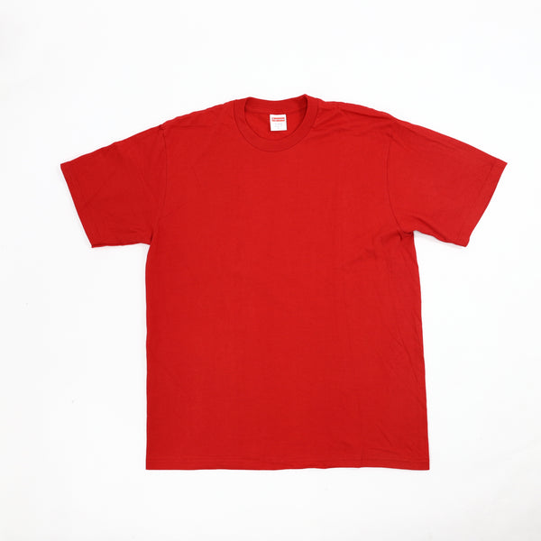 Red Supreme Blank Tee