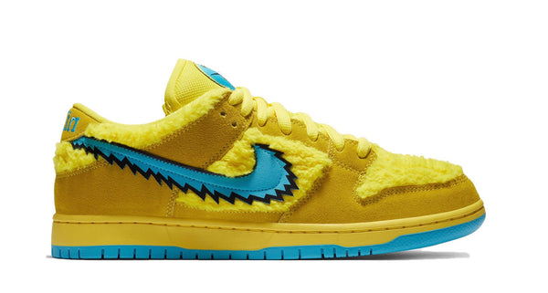 Nike SB low Grateful Dead Yellow