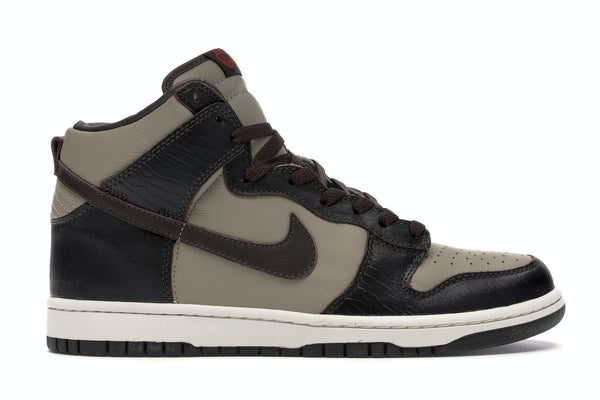 Nike Dunk High Khaki Baroque Brown
