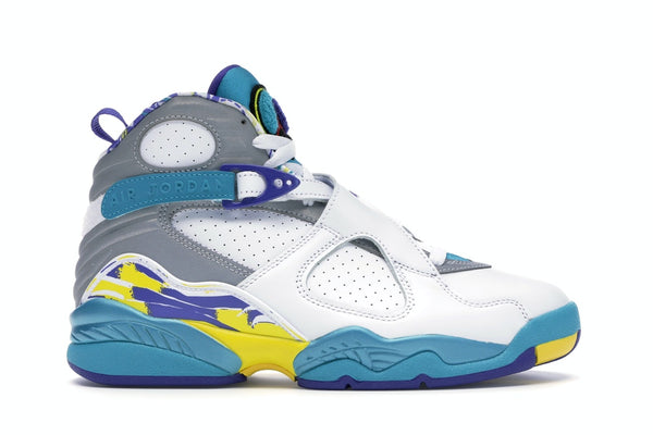 Air Jordan 8 Retro White Aqua 2019 (W)