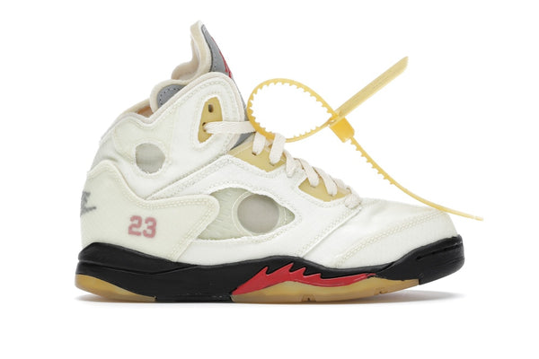 Air Jordan 5 Retro OFF-WHITE Sail (PS)