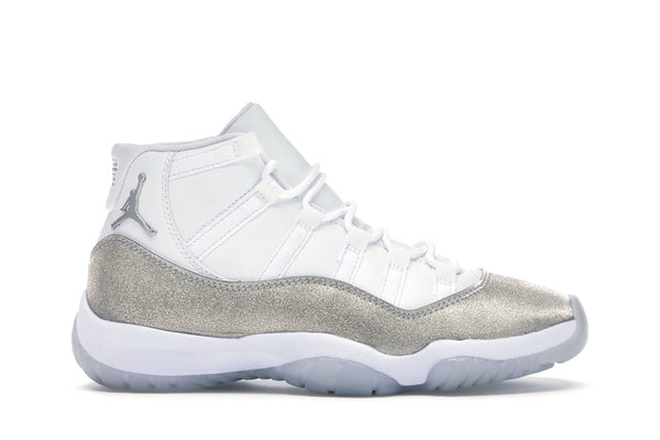 Jordan 11 Retro White Metallic Silver (W)
