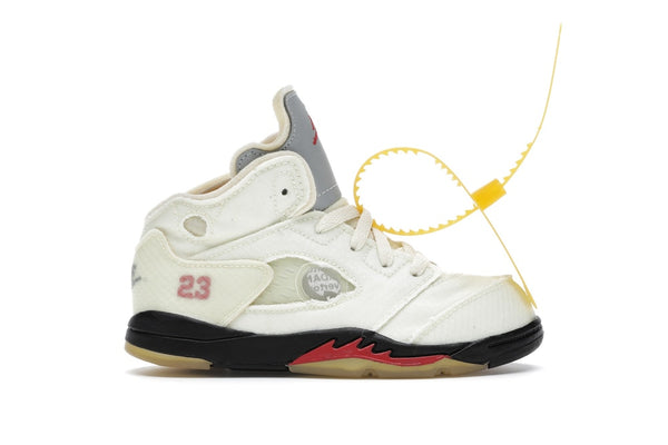 Air Jordan 5 Retro OFF-WHITE Sail (TD)