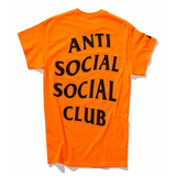 Anti Social Social Club x UNDFTD Paranoid Tee Orange