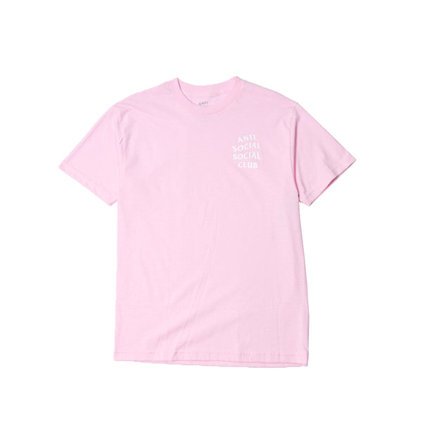 Anti Social Social Club Club Tee Pink/White