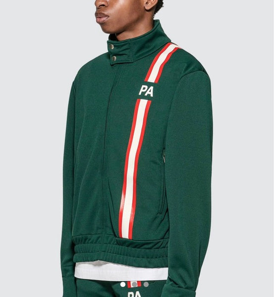 Palm Angels Track Jacket Green