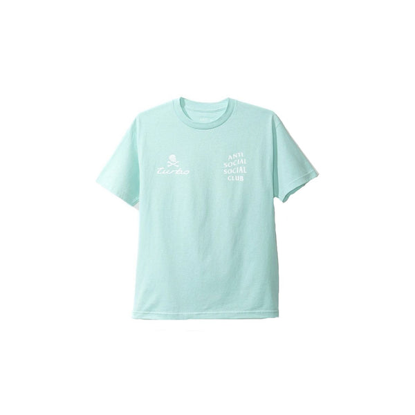 Anti Social Social Club x Neighborhood Teal Tee