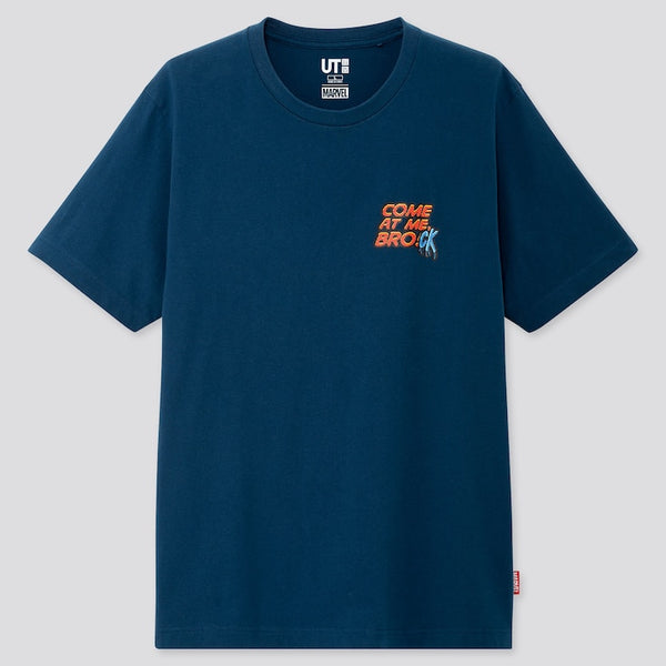 "Uniqlo x MARVEL Navy Blue ""Brock"" Tee"