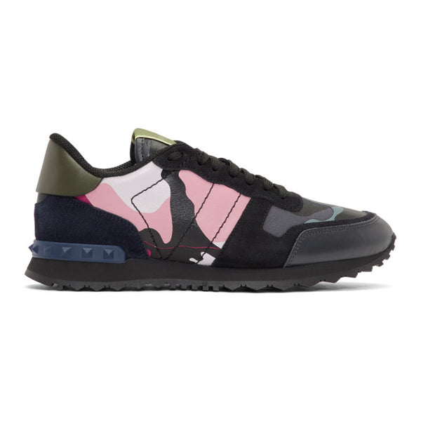 Valentino Pink and Navy Sneakers