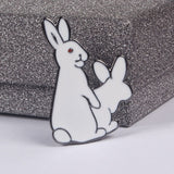 Evil Rabbits Fertility Pin