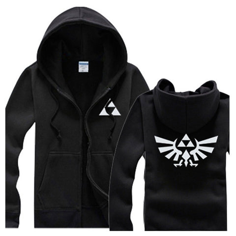 The Legend of Zelda - Men's Zip-up Jacket Hoodie