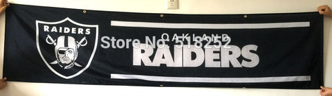 Oakland Raiders Banner 2x8FT