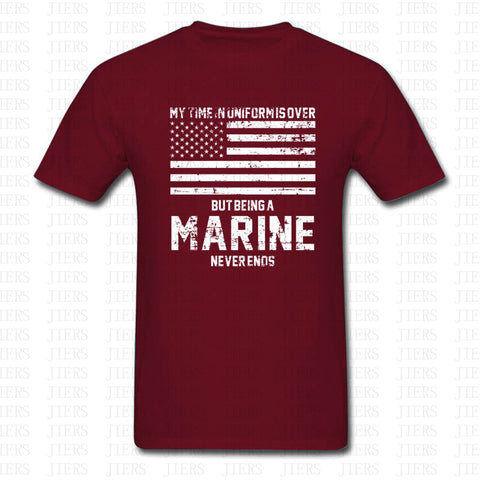 Marine Corps U.S. United States Marines USMC Military T Shirt Men Women Cotton O Neck Short Sleeve Tshirt
